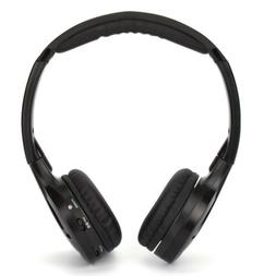 1 Pcs IR Infrared Wireless Headphone Headset Dual Channel fo