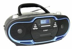 NAXA Portable MP3/CD Player AM/FM Stereo Radio & USB Input