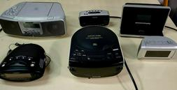 About 100 Alarm Clocks Radios and CD Players