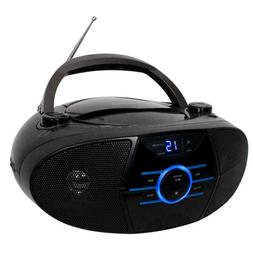 CD-560 Portable Stereo CD Player with AM/FM Stereo Radio and
