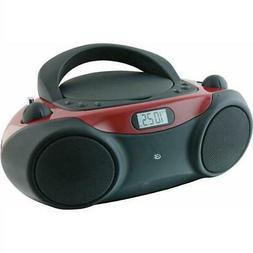 GPX CD Boombox with AM-FM Radio and 3.5mm Line Input - BC232