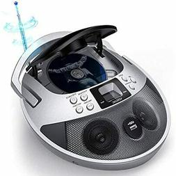 CD Player Boombox Portable, With USB, Radios Players For Hom