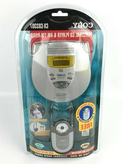 Coby CX-CD3307 Personal CD Player & AM/FM Radio FACTORY SEAL