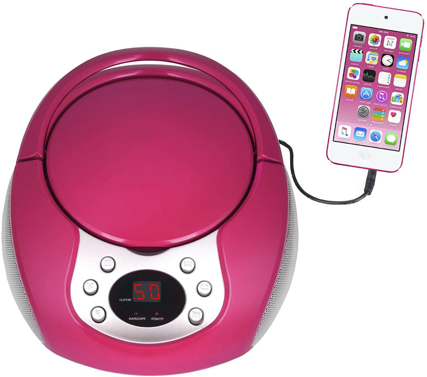 portable cd player with am fm radio