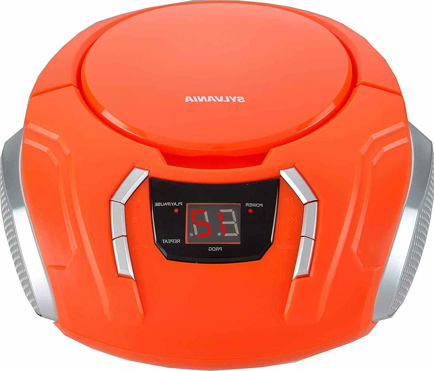 srcd261 portable cd players with am fm