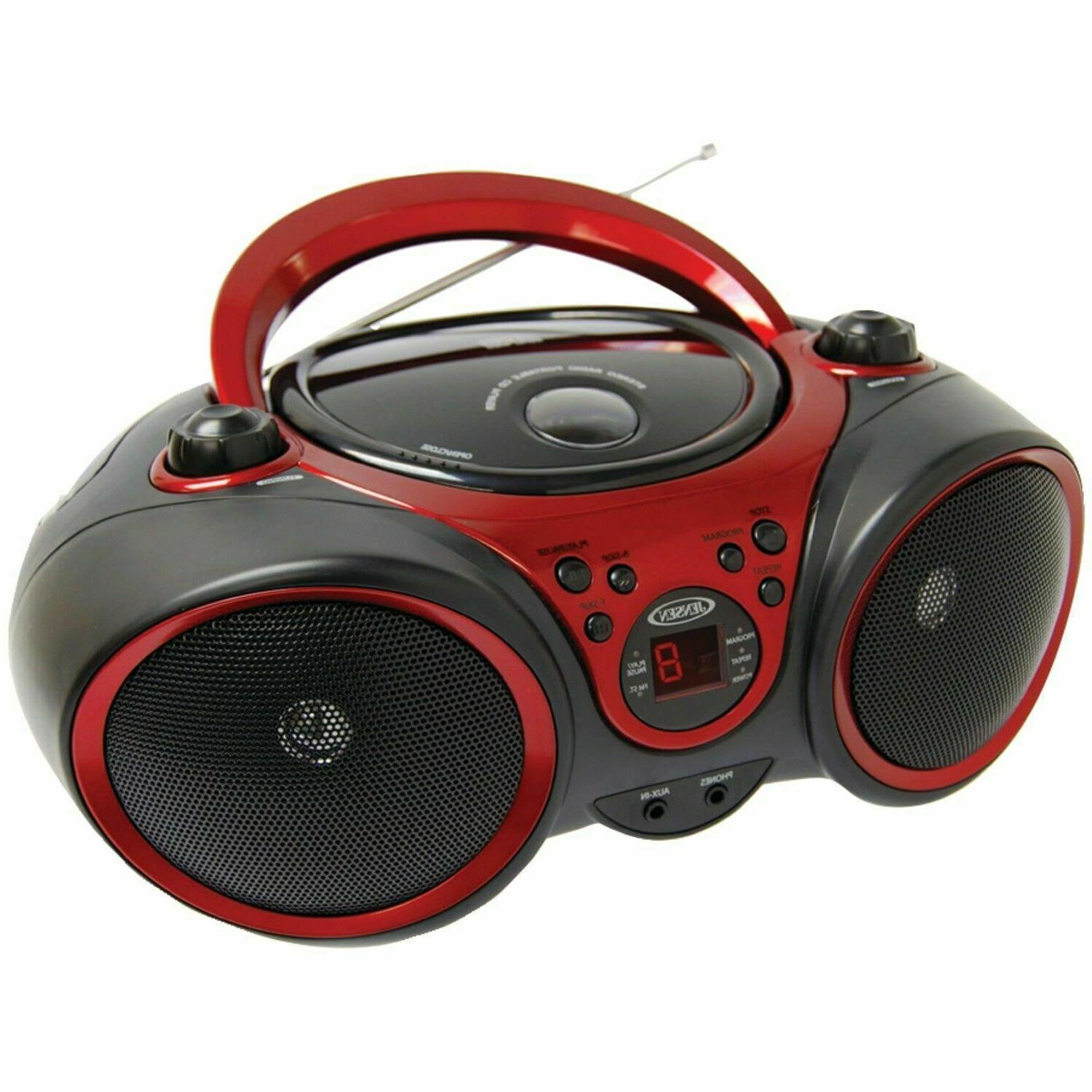 top loading portable stereo cd player