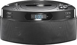 Open-Box Excellent: Insignia- CD Boombox with AM/FM Radio -