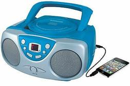 Portable CD Player with AM/FM Radio with 20 Track Programmab