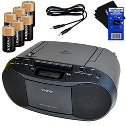 Sony MP3 Format CD, AM/FM Radio, Cassette Recorder Boombox w