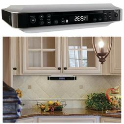Under Cabinet Cd Player And Radio Kitchen Counter Bluetooth